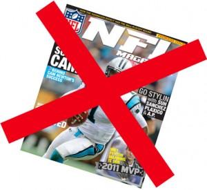 NFL Magazine shuts down publication