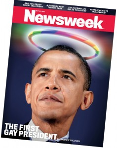 President Obama Gay Newsweek Cover