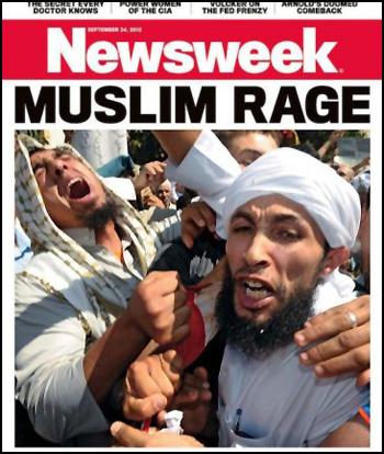 Muslim Rage Newsweek Magazine Cover
